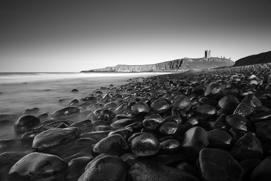The black boulders of Dunstanburgh castle 900PX