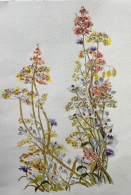 Wildflowers Arteza Pens