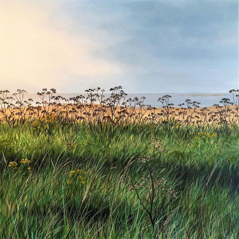 Seedheads overlooking the Sea