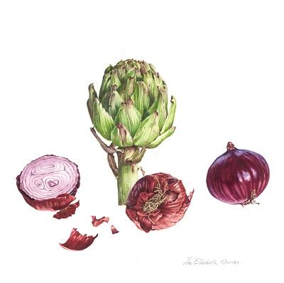 Onions and Globe Artichoke