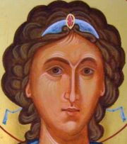 Archangel Michael, Detail