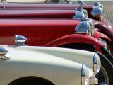 Vintage car park
