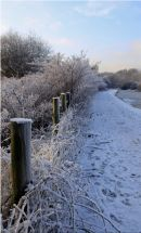 Frozen canal - Huddersfield