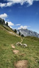 Swiss Mountain path
