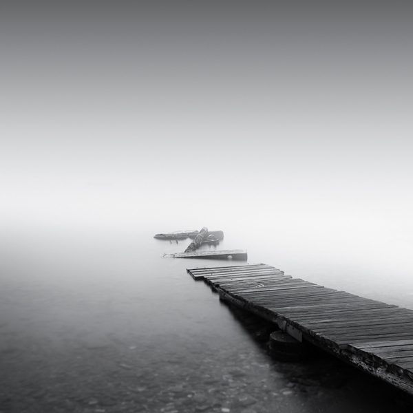 Pier in the mist #2