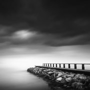 Pier in the mist #3
