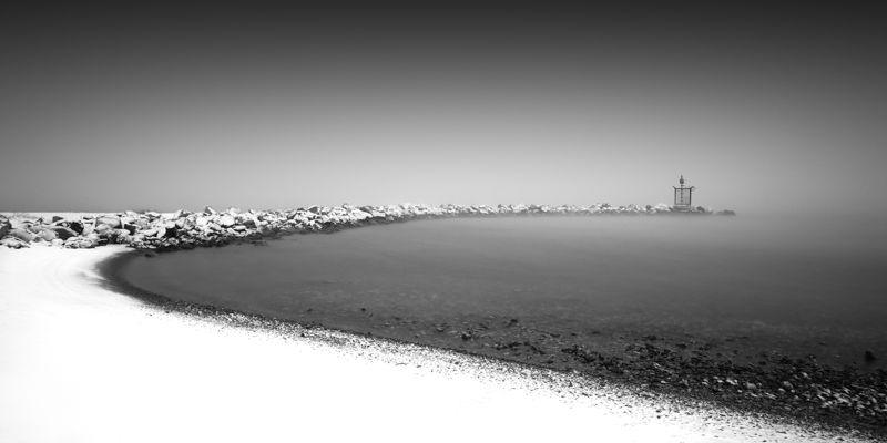 Snow on the beach #3