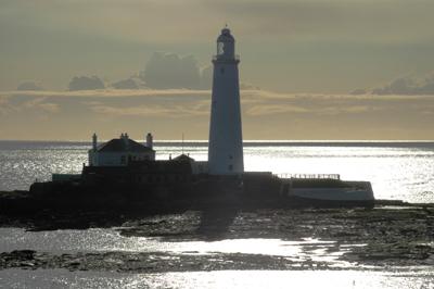 Lighthouse on St Mary's Island