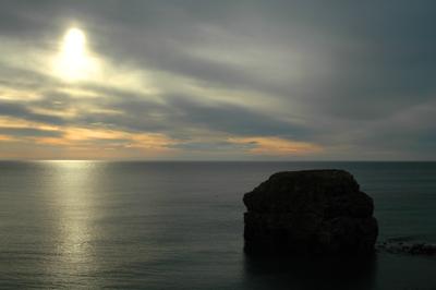 Marsden Rock in the Morning