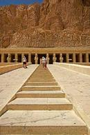 Steps to Hatshepsut temple
