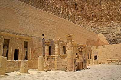Hatshepsut Temple Inner Courtyard