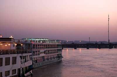 Evening Sky on the Nile
