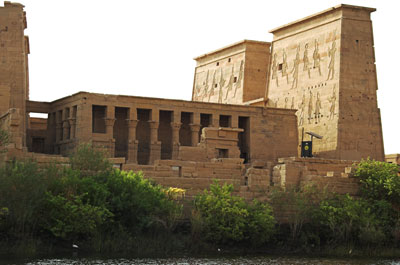 Temple of Isis, Philae from the Nile