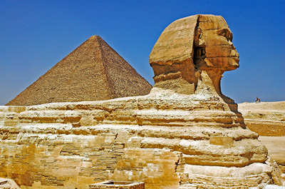 The Sphinx characteristic Image of Egypt