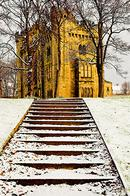 Hylton Castle in Winter