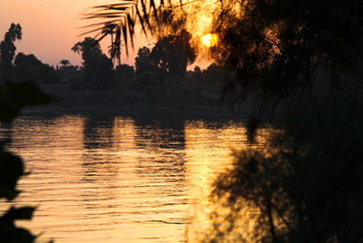 Another sunset over the Nile