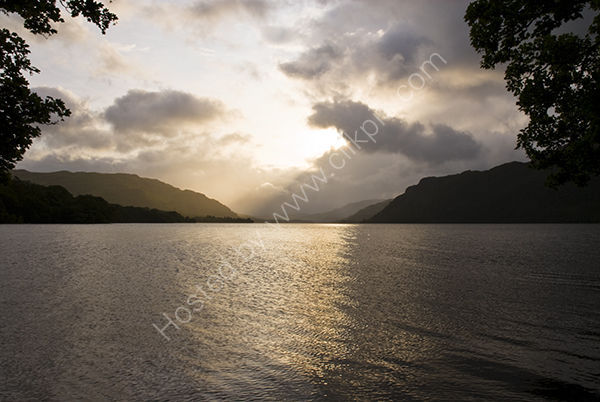 Cloudy sunrise at Ullswater