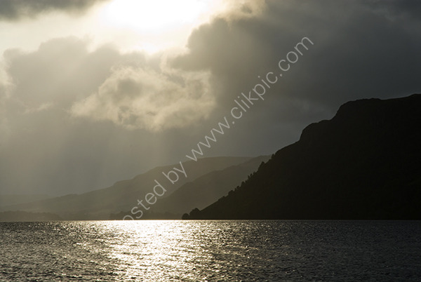 Cloudy morning at Ullswater