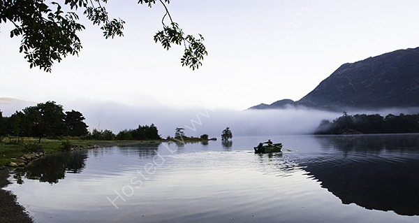 Rowing to beat the mist