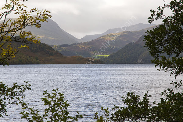 Hills around Lake Ullswater