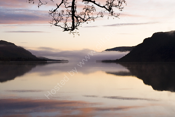 Calm sunrise at Ullswater