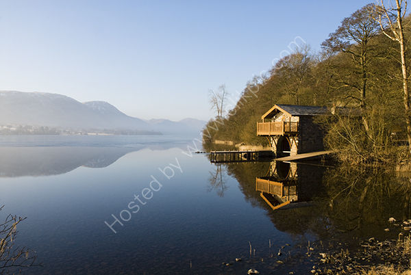 Boathouse by Lake Ullswater