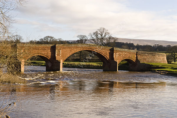 Bridge over river at Lazonby