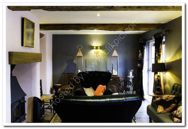 Hotel sitting room