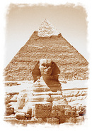 Sphinx & Pyramid of Kafre