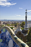 Gaudi's view over Barcelona