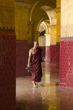 Monk under arch