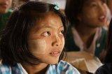 Schoolgirl  in Blue