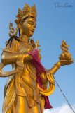 Statue At Buddha Drodolma Site
