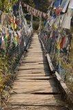 Bridge With Prayer Flags