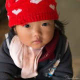 Sad Girl at Market
