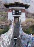 Yeshi on Iron Chain Bridge