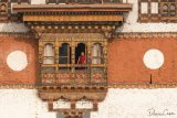 Monk Punakha Dzong