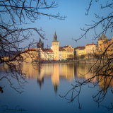 Central Prague from Shooters Island
