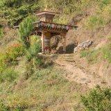 Stupa at Khamsum Yuelling