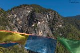 Tigers Nest With Prayer Flags