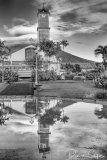 Reflecting in La Fortuna