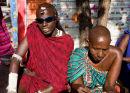 Maasai at Stone Town market, Zanzibar