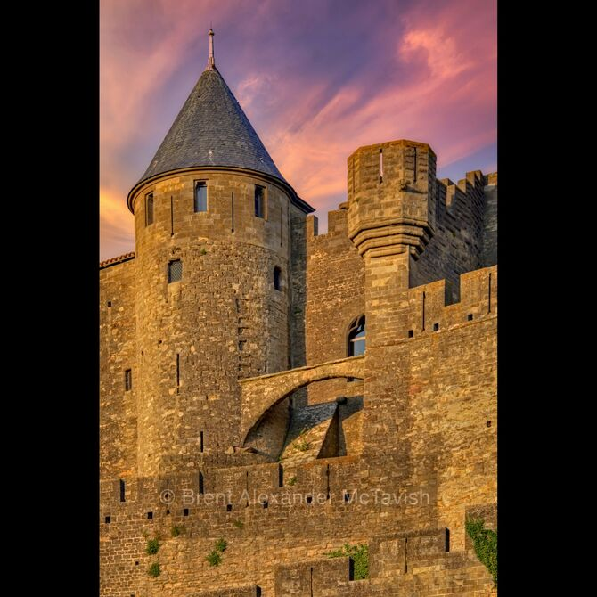 Carcassonne Castle Tower