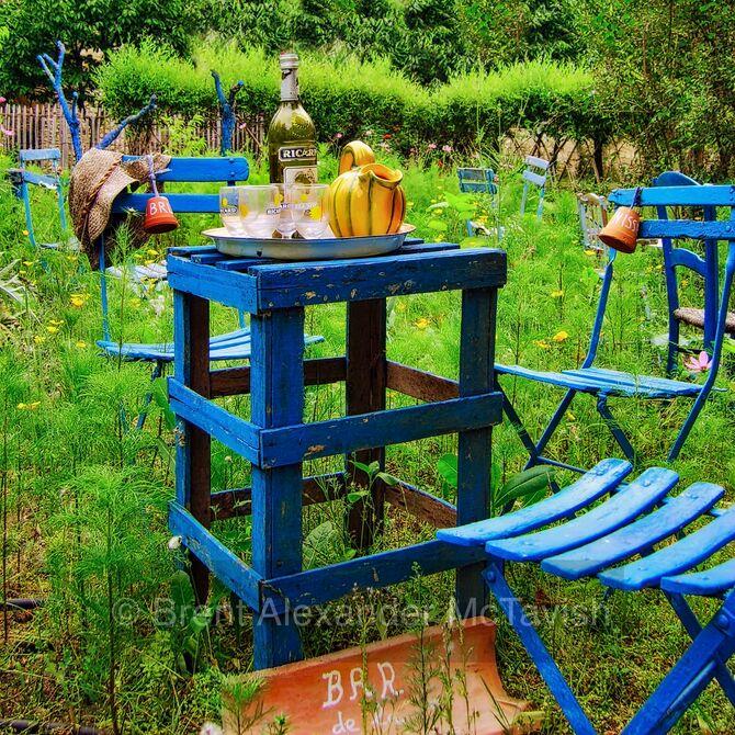 Garden of Abbey Villelongue