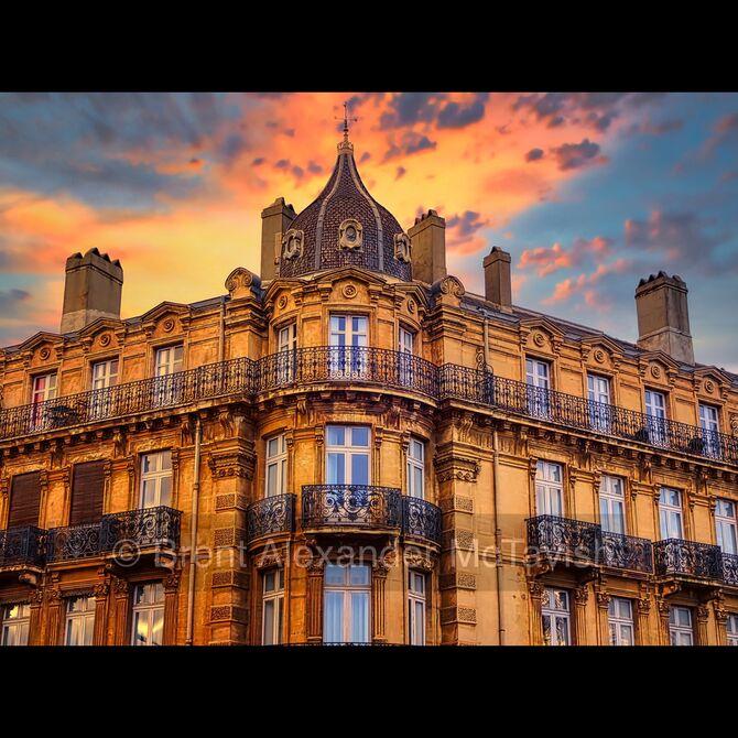 Haussmann Architecture in Carcassonne