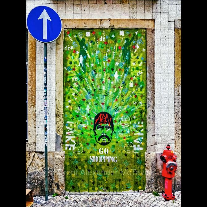 Lisbon Graffiti Street Art