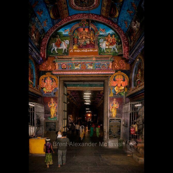 Meenakshi Amman Temple, South India