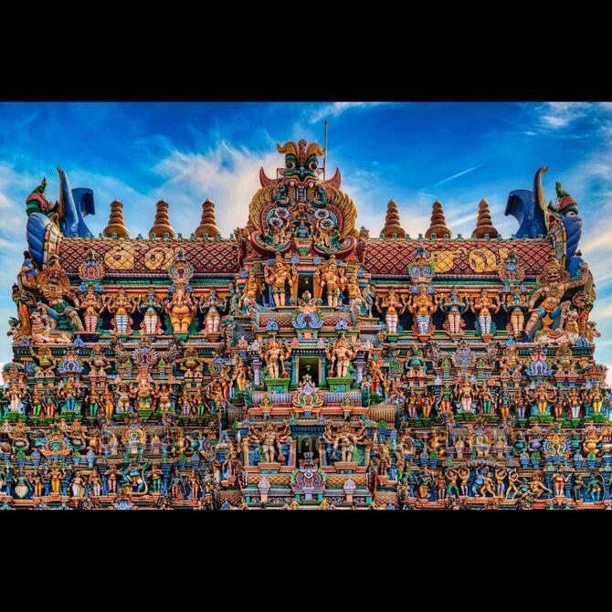 Meenakshi Temple, Madurai, South India