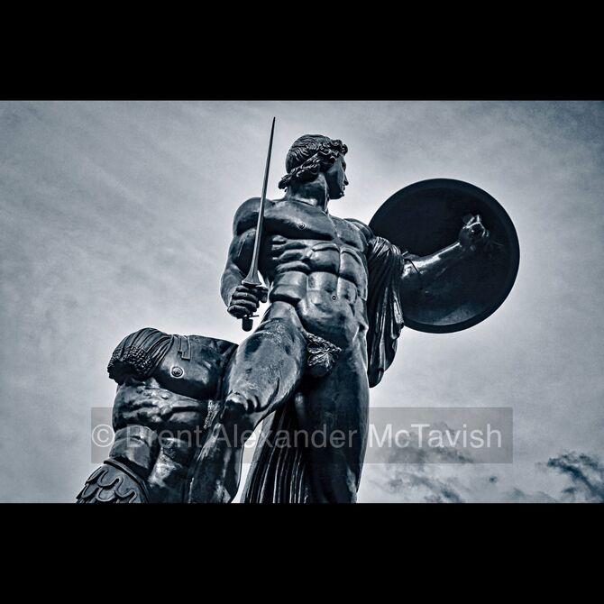 Statue of Achilles, Hyde Park, London