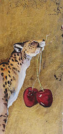 One Cheetah Two Cherries  - by Jackie Morris
